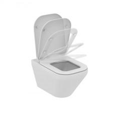 Ideal Standard Tonic II miska WC wisząca AquaBlade z deską sedesową wolnoopadającą biały - 576123_O1