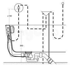 Ideal Standard Multiplex zestaw odpływo-przelewowy trio napełnianie przez przelew - 384400_O1