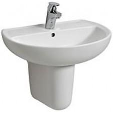 Koło Rekord umywalka 55cm bez otworu biała - 6144_O1