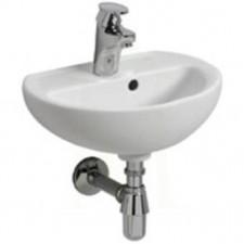 Koło Rekord umywalka 40cm z otworem biała - 6139_O1