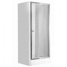 Deante Zoom drzwi szkło grafitowe, 78-90 chrom - 553666_O1