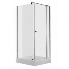 Deante Cubic kabina szkło transparentne z powłoką, profil chrom 80x80 chrom - 462453_O1