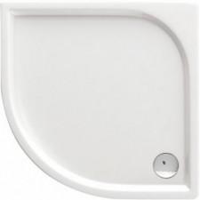 Deante Cubic brodzik półokrągły, akrylowy, 3 cm głębokości, płaski 80 - 462459_O1