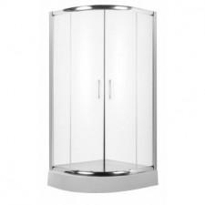 Deante Vanilla kabina półokrągła, szkło transparentne z powłoką, 90x90 - 462484_O1
