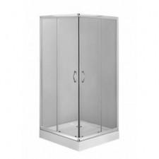 Deante Funkia kabina kwadratowa, szkło grafitowe, 90x90 - 553746_O1
