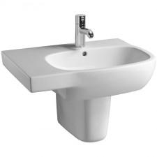 Koło Style umywalka asymetryczna lewa 65cm z otworem - 5920_O1