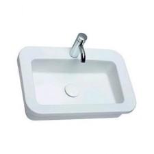Koło Coctail umywalka prostokątna wpuszczana w blat 65cm Reflex - 6683_O1