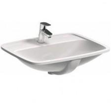 Koło Nova Pro umywalka podblatowa prostokątna z półką z otworem z przelewem z przodu 55cm - 488219_O1