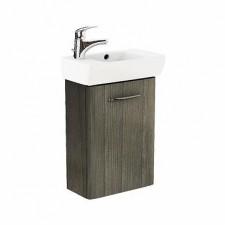 Koło Nova Pro umywalka 45cm lewa z szafką szary jesion - 572956_O1