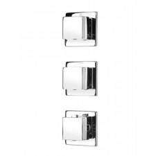 Deante Cascada bateria multi-system - bateria termostatyczna kwadratowa chrom - 453781_O1