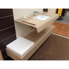 Duravit Onto szafka trzy szuflady 15x180x44 Bazalt mat - EXPO - 460670_O1