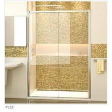 Sanswiss Ronal Pur Light S drzwi przesuwane dwuczęśćiowe do ścianki lub wnęki prawe 120 profil połysk, szkło przezroczyste - 451044_O1