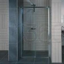 Sanswiss Ronal Drzwi prysznicowe do wnęki element stały po lewej stronie 115x200 połysk - 488811_O1