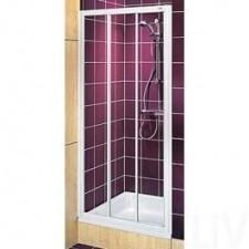 Koło Akord Drzwi prysznicowe rozsuwane 90 biały - 488456_O2