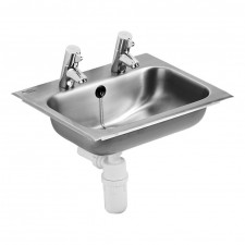 Ideal Standard Berwick umywalka 47x39cm 2cm otwory biała - 576576_O1