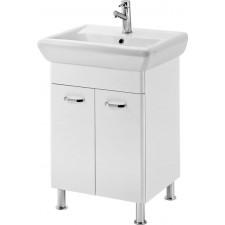 Cersanit Alpina set iryda 60 biała dsm (szafka + umywalka) - 763069_O1