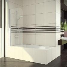 Sanswiss Ronal Swing-Line Parawan wannowy jednoczęściowy lewy 70 profil połysk szkło przezroczyste - 492421_O1