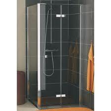 Sanswiss Ronal Swing-Line Ścianka boczna montaż do magnesu 100x195 szkło przezroczyste - 406500_O1