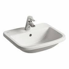 Ideal Standard Tempo umywalka nablatowa 50x43cm biała - 524512_O1