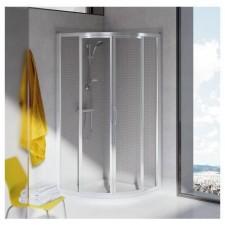 Ideal Standard Tipica kabina prysznicowa półokrągła srebrny - 384541_O1