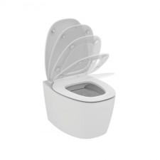 Ideal Standard Dea miska wisząca bezrantowa z deską sedesową wolnoopadającą biały mat - 576570_O1