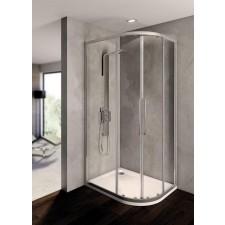 Ideal Standard Kubo kabina prysznicowa półokrągła asymetryczna 80x100cm srebrny - 552011_O1