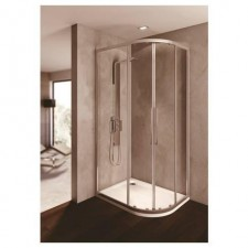 Ideal Standard Kubo kabina prysznicowa półokrągła 80x120cm srebrny - 551857_O1