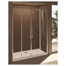 Ideal Standard Kubo drzwi prysznicowe podwójne przesuwne 130cm srebrny - 552036_O1