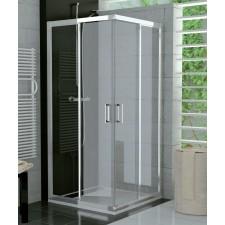Sanswiss Ronal Top Line kabina kwadratowa drzwi przesuwane 90x90 profil połysk, szkło przezroczyste - 492847_O1