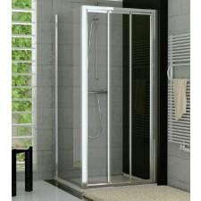 Sanswiss Ronal Top Line drzwi przesuwane trzyczęściowe do ścianki lub wnęki 90 profil połysk, szkło przezroczyste - 464958_O1