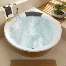 Villeroy & Boch Luxxus wanna z hydro Combipool Entry White - 613365_O1