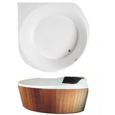 Villeroy & Boch Luxxus wanna z hydro Special Combipool Invisible Star White - 582968_O1