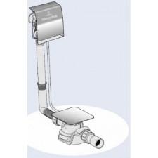 Villeroy & Boch Przyłącze wody zintegrowane z przelewem, syfon wannowy z napełnieniem - 507454_O1
