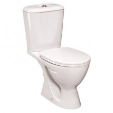 Ideal Standard Ecco/Eurovit miska WC kompaktowa odpływ poziomy biały - 367524_O1