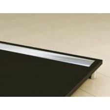 Sanswiss Ronal Ila brodzik konglomerat prostokątny 80x90 czarny grafit - 488646_O1