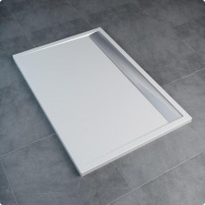 Sanswiss Ronal Ila Brodzik prostokątny 80x120 biały - 492627_A1