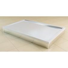 Sanswiss Ronal Ila brodzik konglomerat prostokątny 90x120 biały - 493082_A1