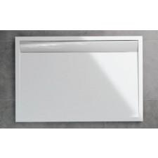 Sanswiss Ronal Ila brodzik konglomerat prostokątny 90x150 biały - 493164_O1