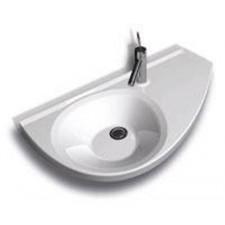 Ravak umywalka Avocoda lewa biała Z OTWORAMIO1