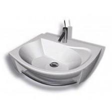 Ravak umywalka Rosa lewa biała Z OTWORAMIO1