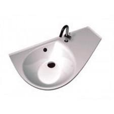 Ravak umywalka Avocoda COMFORT lewa biała Z OTWORAMIO1
