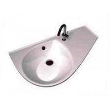 Ravak umywalka Avocoda COMFORT prwa biała Z OTWORAMIO1