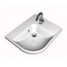 Ravak umywalka By Happy prwa biała Z OTWORAMIO1
