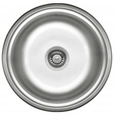 """Deante Cornetto zlewozmywak okrągły odpływ 3.5"""", satyna - 429936_O1"""