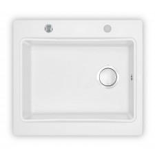 Deante Modern zlewozmywak 1-komorowy bez ociekacza - alabaster 590x520 - 451497_O1