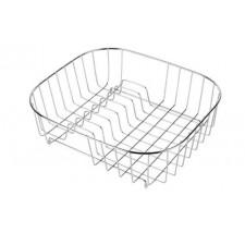 Deante koszyk stalowy z suszarką do zlewozmywaków z prostokątną komorą 32x35x11O1